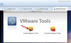 vmware machine for mac