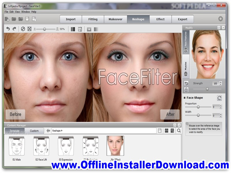 FaceFilter Download for Windows