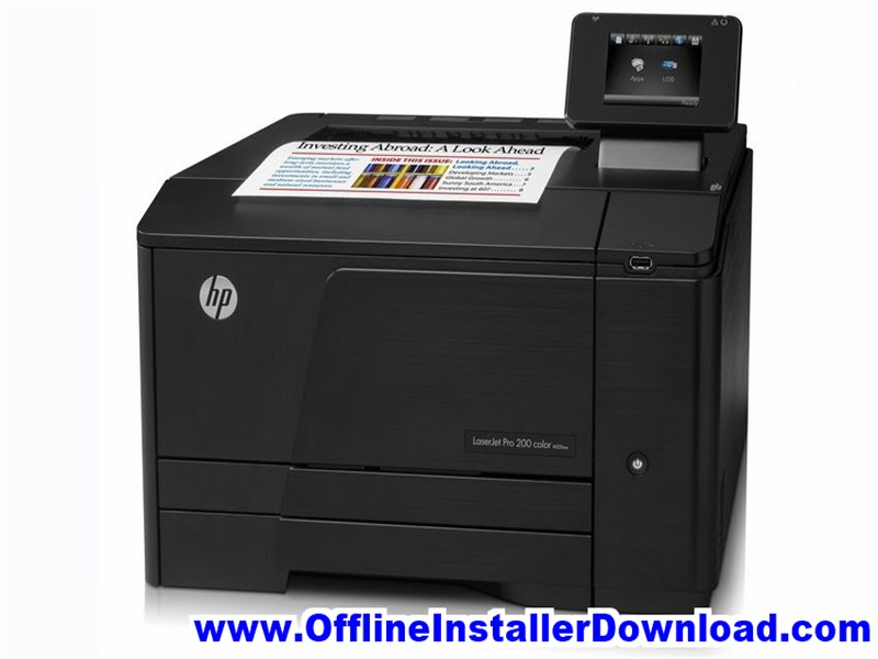 HP LaserJet Pro 200 Color Printer M251nw Driver Free Download