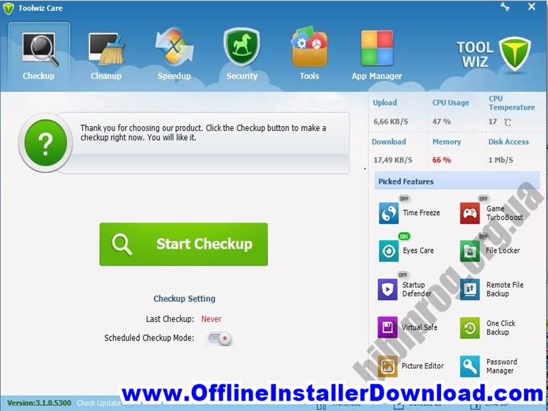 Toolwiz Care Download for Windows