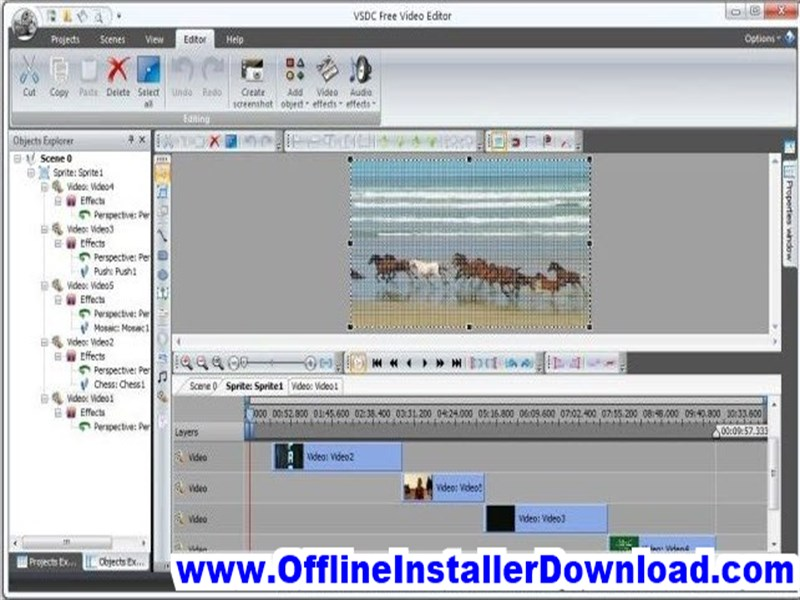 VSDC Video Editor Free download for Windows 10, 7, 8