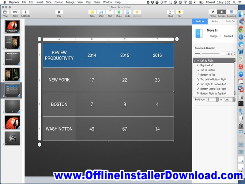 Apple Keynote for Mac Free download for Mac Osx | Direct Dmg download
