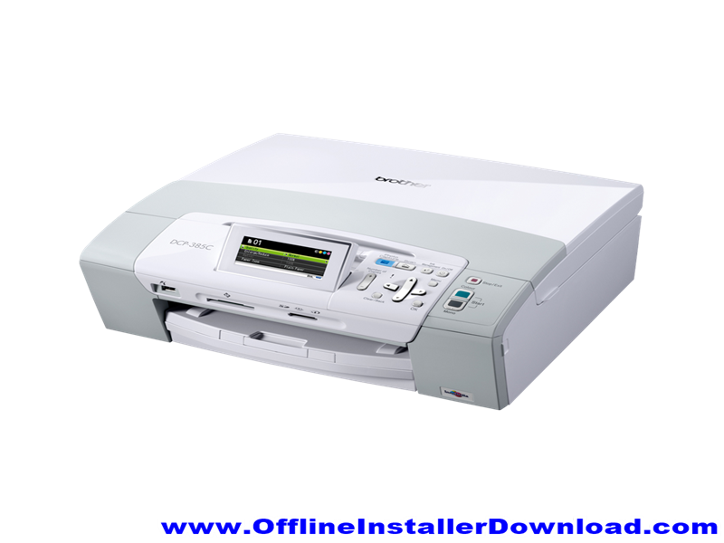 Brother DCP385C Printer Driver Download for Windows
