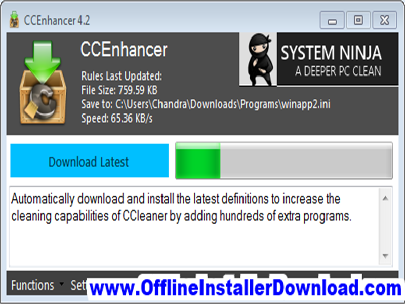 CCEnhancer Download for Windows