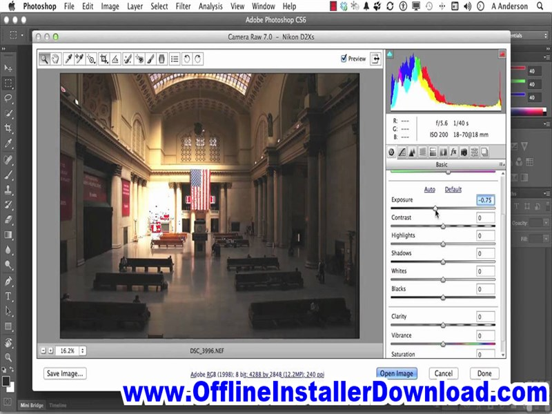 Camera Raw for Photoshop Full version Download