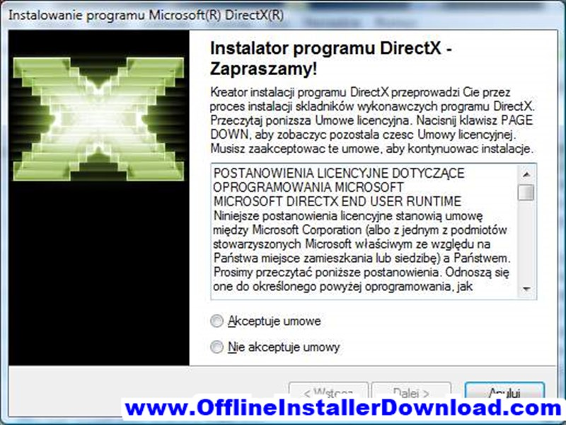 DirectX 9 Redistributable Download for Windows