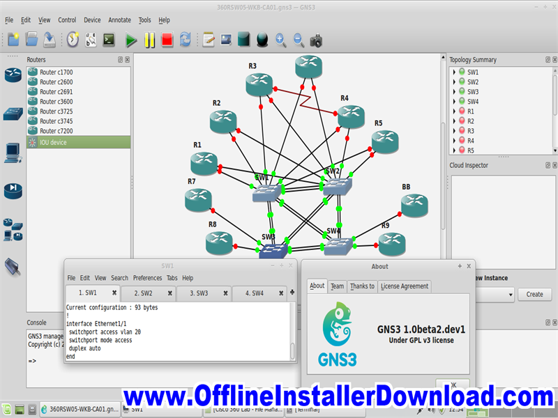 GNS3 Direct Link download