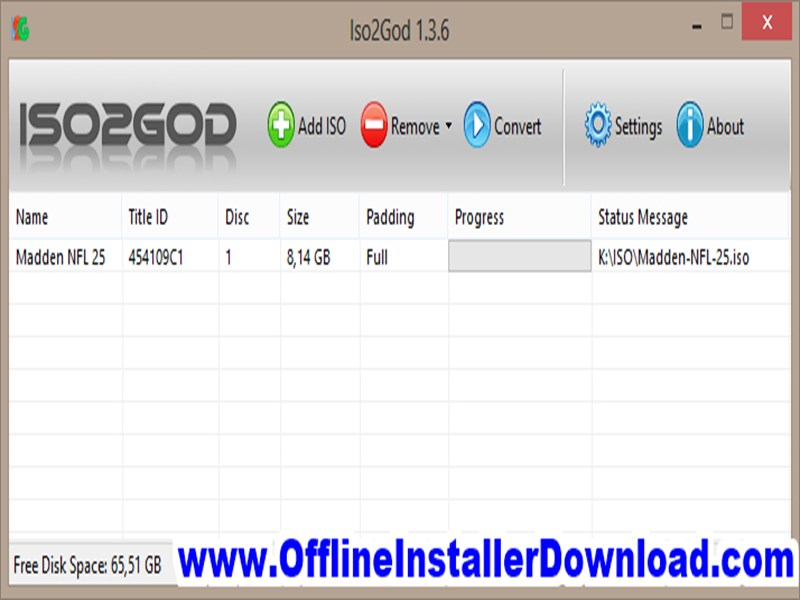ISO2GoD Download for Windows