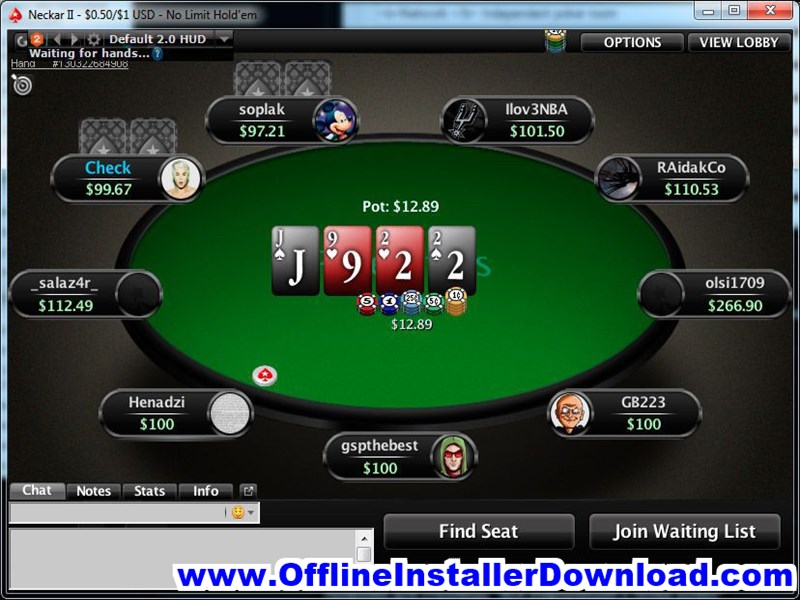PokerStars Download for Windows