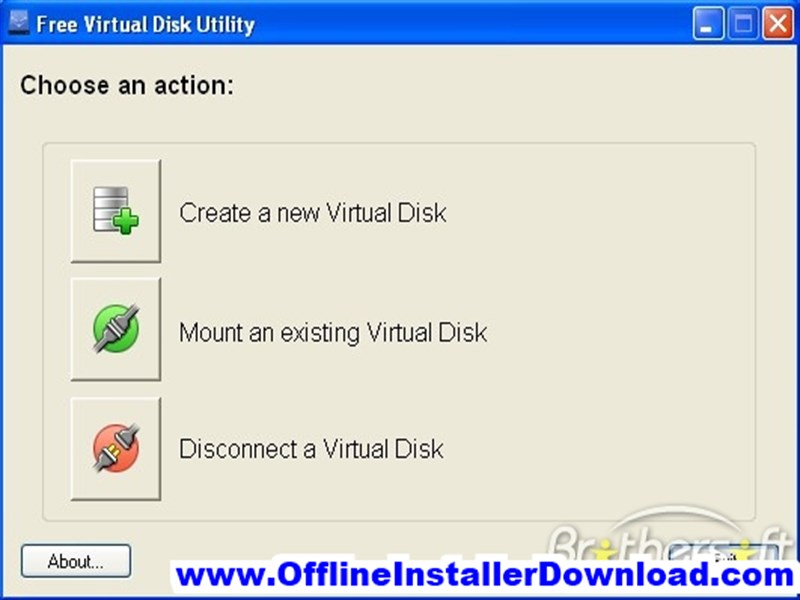 Virtual Disk Utility Full version Download