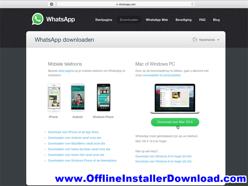 WhatsApp for Mac Free Download