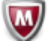 McAfee Virus Definitions icon